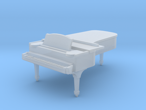 1:48 Concert Grand Piano in Smooth Fine Detail Plastic