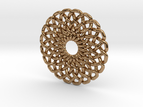 Circular Knot in Polished Brass