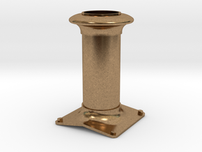 Hudswell Clarke D29. Chimney 1:34 in Raw Brass