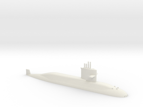 1/700 Zwaardvis / Hai Lung Class (Waterline) in White Natural Versatile Plastic