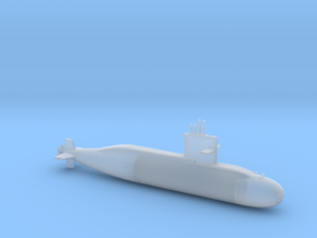 1/700 Zwaardvis / Hai Lung Class Submarine in Smooth Fine Detail Plastic