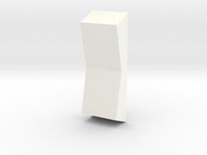 Rocker Switches Tie 1 in White Processed Versatile Plastic