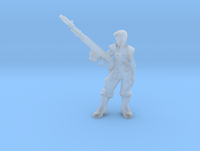 SciFi Empire Guards sergeant 28mm in Frosted Ultra Detail
