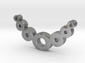 Zero Necklaces in Natural Silver