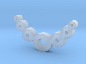 Zero Necklaces in Smooth Fine Detail Plastic