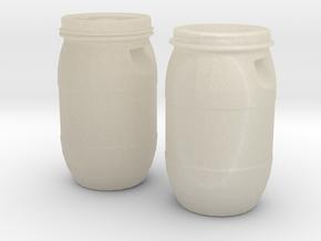 30 liter Drum Set in White Acrylic
