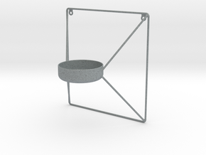 Kube Tealight Holder in Polished Metallic Plastic