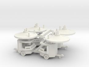 Verkauf - Consession 4 Roundjet - 1:160 (n scale) in White Natural Versatile Plastic