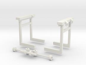 sl1 Brückenkran und Kupplung in White Natural Versatile Plastic