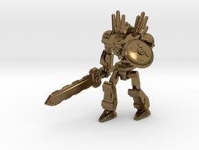 Mayan Doom Bot #2 in Natural Bronze