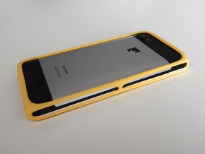 Bumper Protective Case for the Fairphone in Yellow Processed Versatile Plastic