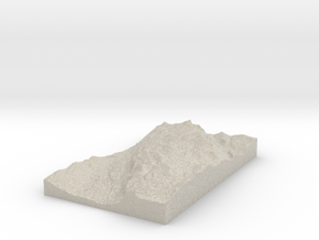 Model of Nordsætra in Sandstone