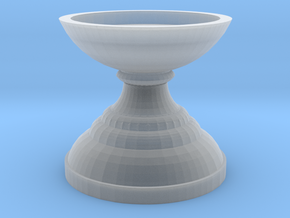 Candle Holder .7mm thick in Smooth Fine Detail Plastic