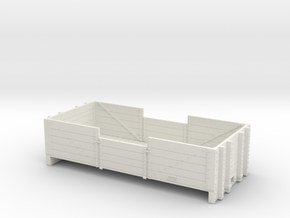 NZR 1-24 L4 Body in White Natural Versatile Plastic