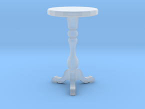 "1:48 18"" Round Table in Smooth Fine Detail Plastic"
