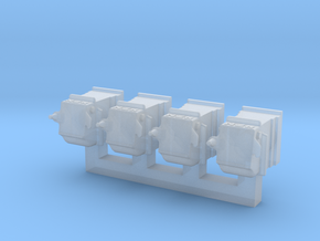 NZR 1:34 (9mm:1ft) scale Axleboxes for x7781 in Smooth Fine Detail Plastic