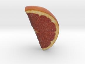 The Grapefruit-Quarter in Full Color Sandstone