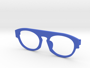 Frame F 004  in Blue Strong & Flexible Polished