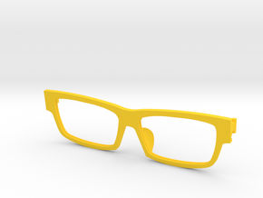 Frame F 005  in Yellow Strong & Flexible Polished