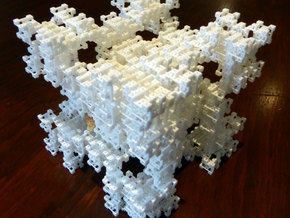 Fractal Graph 4 in White Strong & Flexible