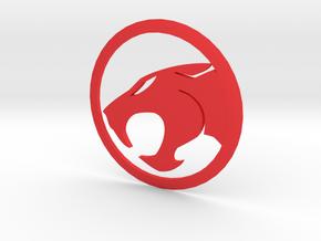 MK5 & MK6 Volkswagen Jetta Thundercats Rear Emblem in Red Processed Versatile Plastic
