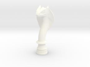 Queen Cobra in White Processed Versatile Plastic