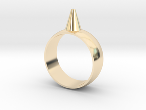 223-Designs Bullet Button Ring Size 8.5 in 14K Gold