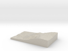 Model of Talgarth in Sandstone