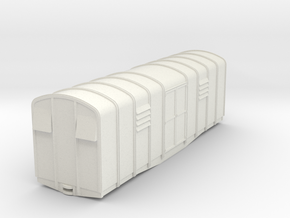 009 L&M Bogie van ( simplified version)  in White Strong & Flexible