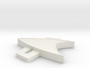 9pr9lv279b6kacr8ndr5qkefq3 46589577 Mod.stl in White Natural Versatile Plastic