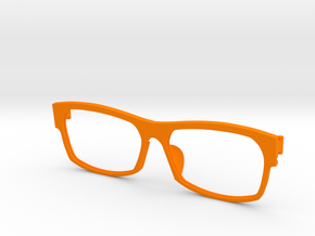 Frame F 006  in Orange Strong & Flexible Polished