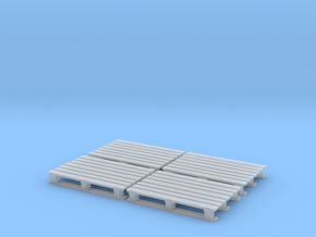 1:87 Chemie Palette CP2 4er Set in Smooth Fine Detail Plastic