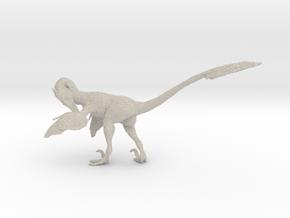 1:12 Scale Velociraptor  (Preening) in Natural Sandstone