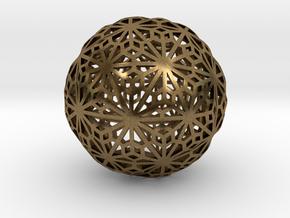 Flexible Sphere_d1 in Natural Bronze