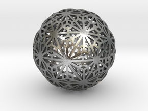 Flexible Sphere_d1 in Natural Silver