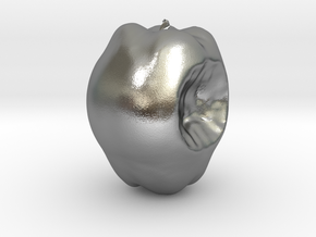 Apple in Natural Silver