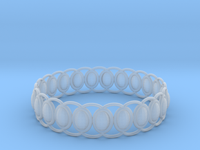O Ring 2 in Smooth Fine Detail Plastic