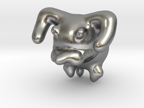 Dog in Natural Silver