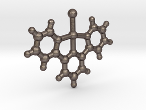 Pt(tpy)ClClO4-H2O in Polished Bronzed Silver Steel