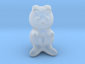 Teddy bear in Smooth Fine Detail Plastic