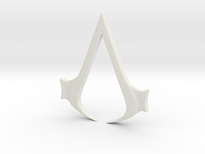 AC Connors Buckle in White Natural Versatile Plastic