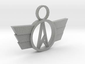 Neo-A Pendant in Metallic Plastic