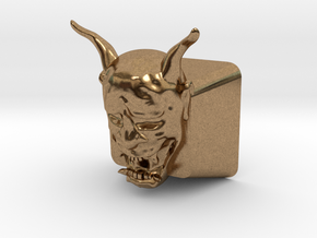 Cherry MX Hannya Keycap in Natural Brass