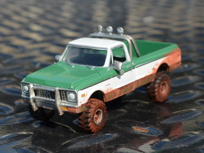 36in Ground Hawg Set 1-64 Scale in Frosted Ultra Detail