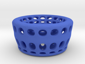 Eggcup  hole in Blue Strong & Flexible Polished