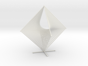 Tetrahemihexahedron Curve Stitching Double in White Strong & Flexible