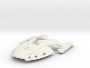 Mill Class GunDestroyer in White Strong & Flexible