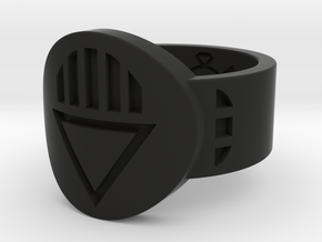Death FF Ring (Sz's 5-15) in Black Natural Versatile Plastic