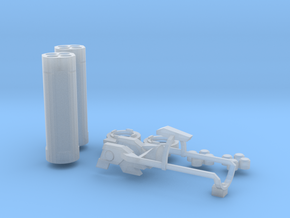 Beam Magnum Launcher Parts in Smooth Fine Detail Plastic