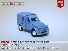 Citroën 250 - parked (British N 1:148) in Frosted Ultra Detail
